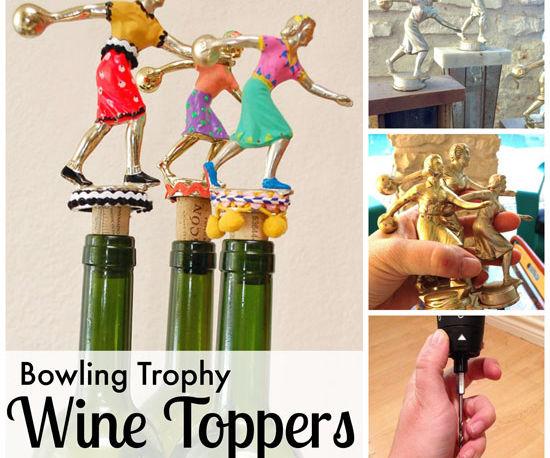 Trophy Wine Bottle Toppers