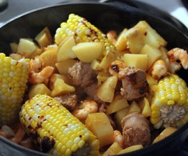Dutch Oven Low Country Boil