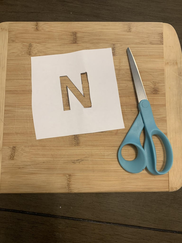 Cut Out Your N