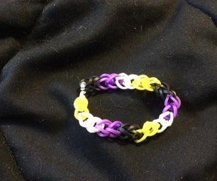Non Binary Pride Bracelet