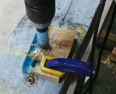 Use the Hole Saws to Drill Out the Ring