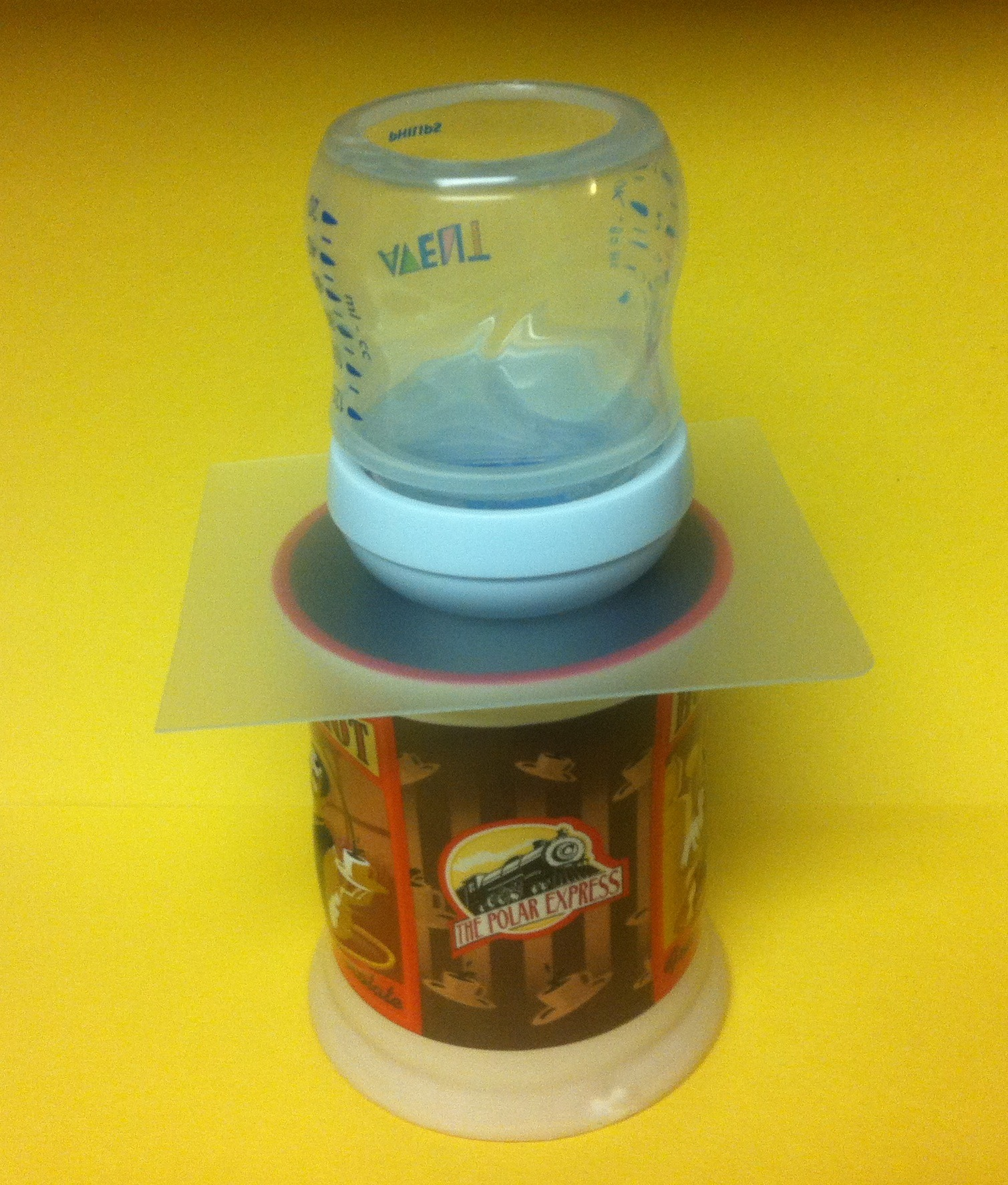 $5 K-Cup Baby Bottle Coffee Maker
