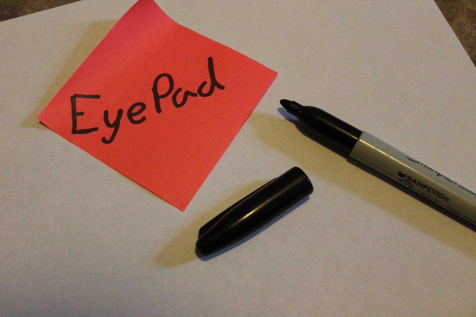 """Eye Pad"""