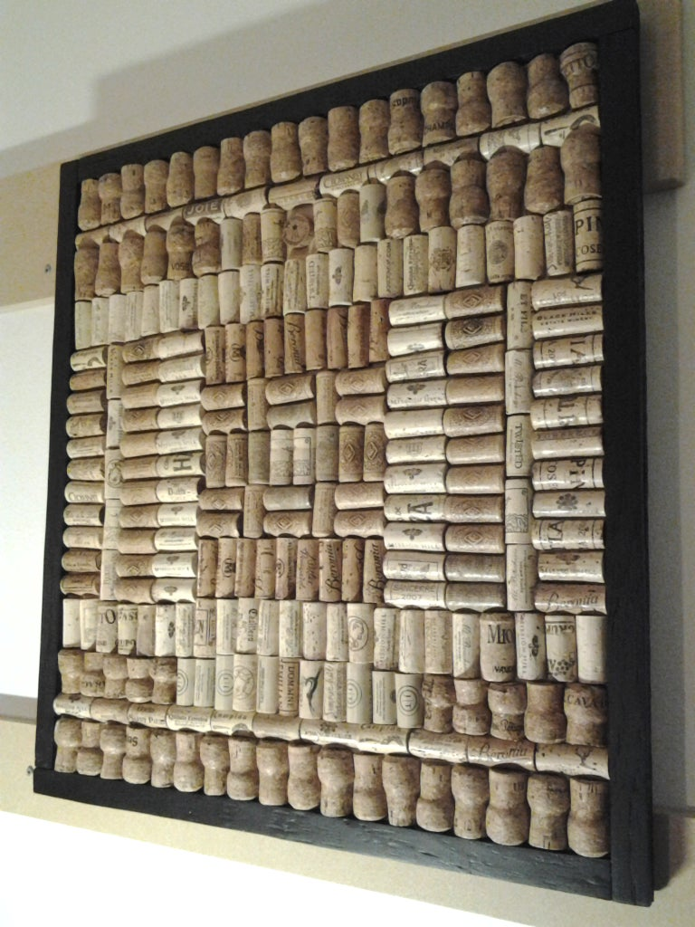 DIY Wine Cork Board Recycle and Upcycle  10 Steps with Pictures ...