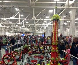 Large Collaborative Lego Displays