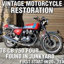 How to Restore an Old Junkyard Motorcycle