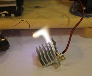 ZVS High Voltage Power Supply
