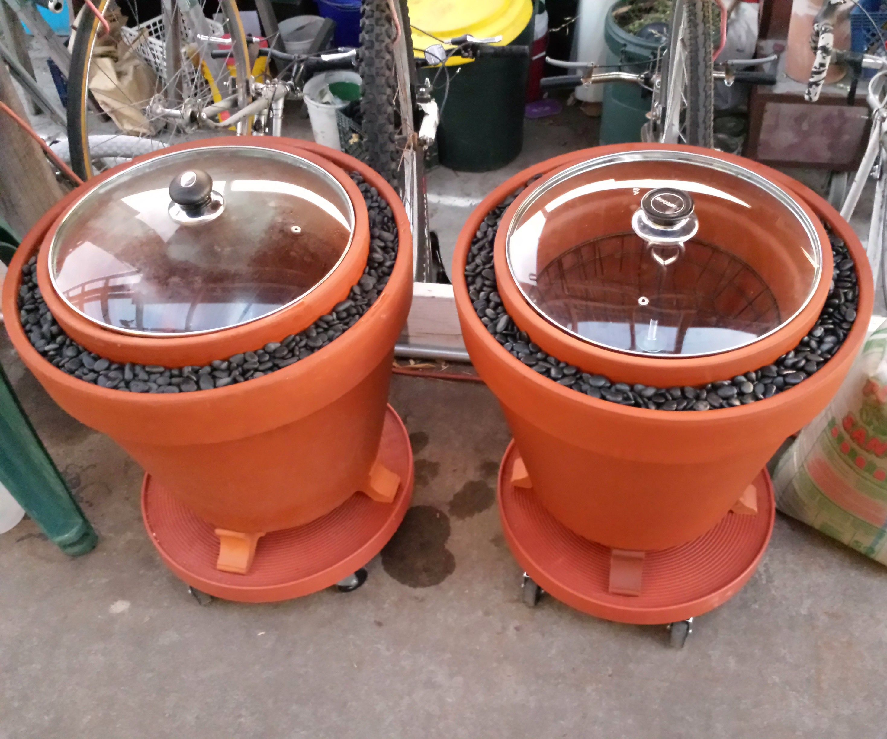 A Practical Zeer Pot (evaporative cooler / non-electrical refrigerator)