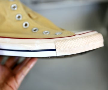 How to Remove Stains From Sneaker Soles