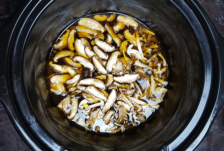 Remove Pork & Add Mushrooms