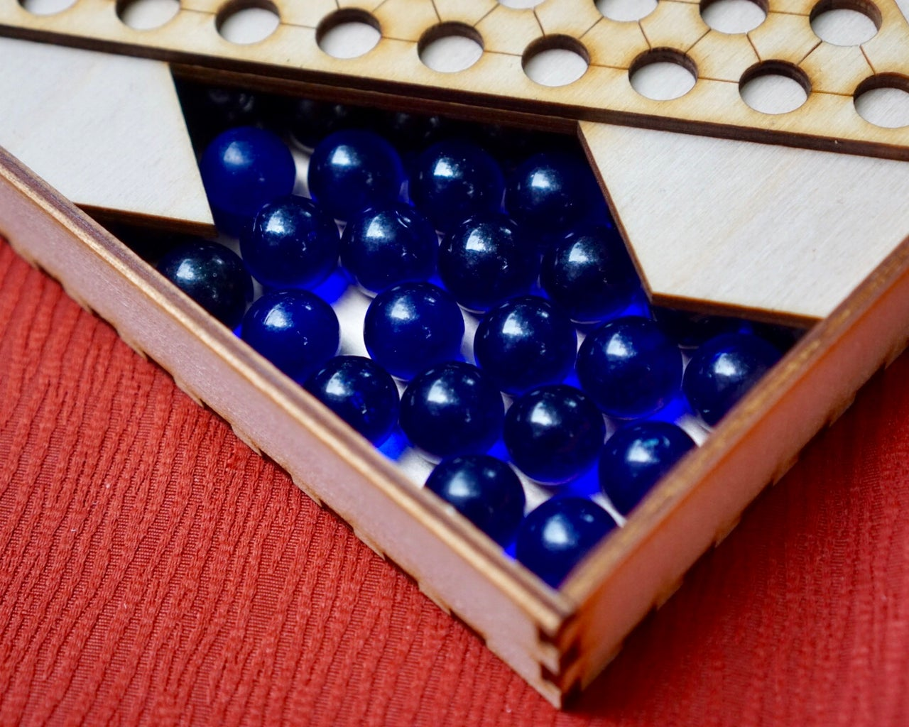 Stock With Marbles
