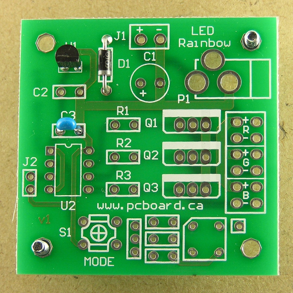 Assembly Step 3: Capacitor C3