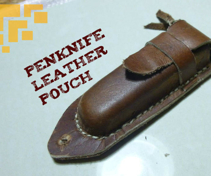 Penknife Leather Pouch.