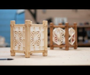 How to Make an Andon-Inspired Mini Kumiko Lantern