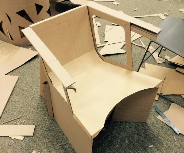 Designing a Functional Cardboard Chair
