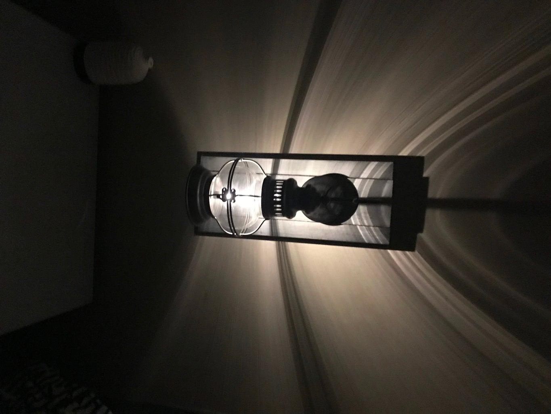 DIY Lighted WallSconce