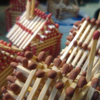 How to Make a Match House Without Glue!!