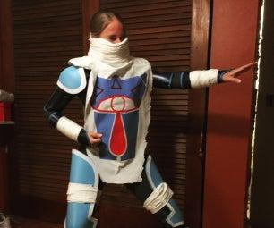 No Sew Costume: Sheik's Cowl - Spray Glue Only!