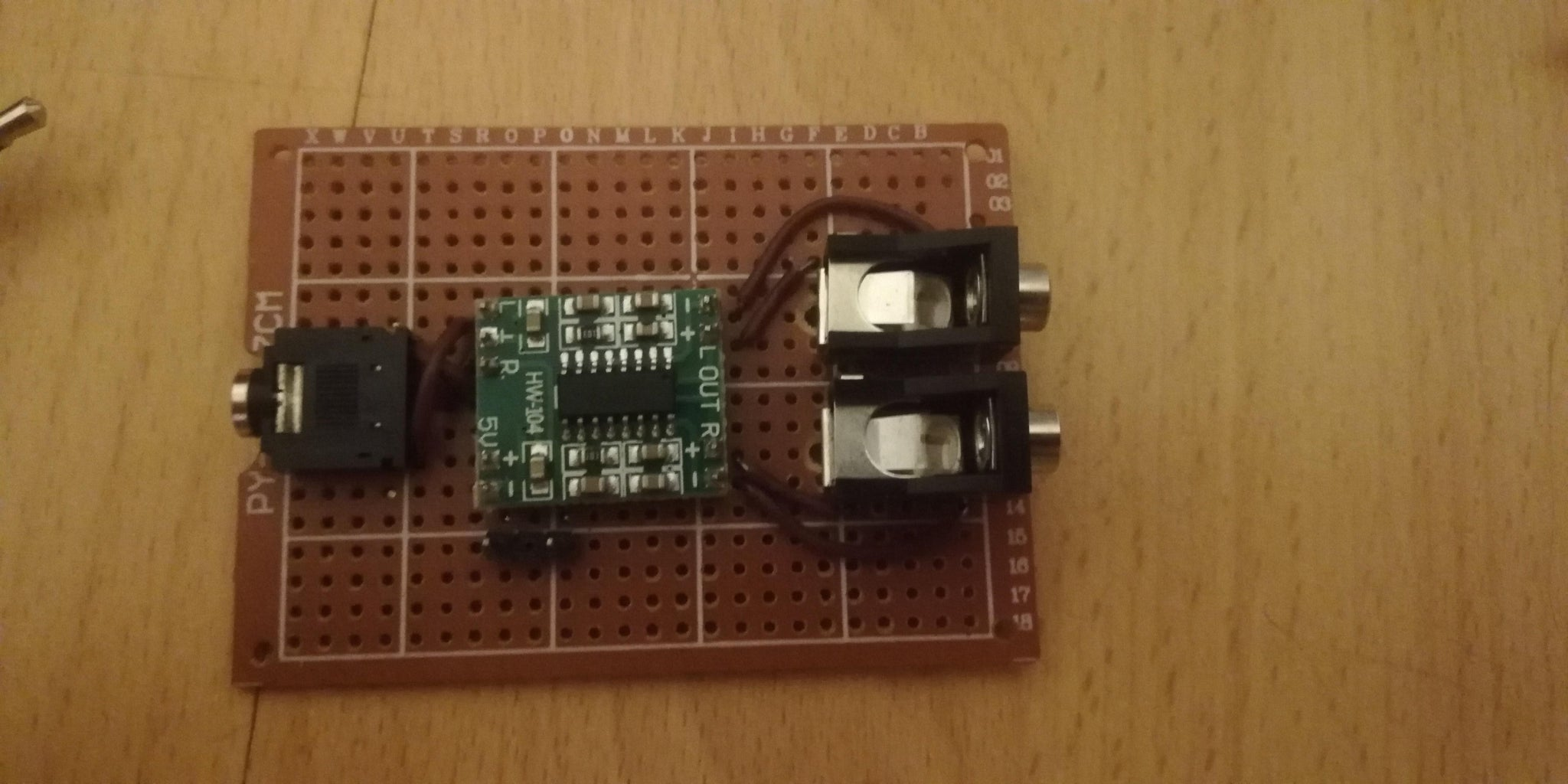 Assembling the Circuitry