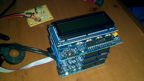 RGB LCD (optional)
