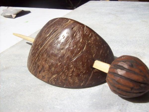 Coconut Hair Clip.