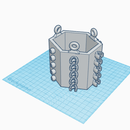 3D-Printable Interlocking Planters