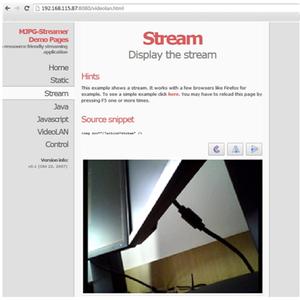 STEP 2: Connect Raspberry Pi  MJEG Streamer Package Install
