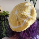 Crochet Lemon Beret