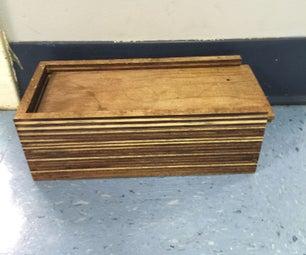 Plywood Pencil Box