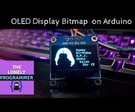 Arduino Tutorial : OLED Display Bitmap on Arduino
