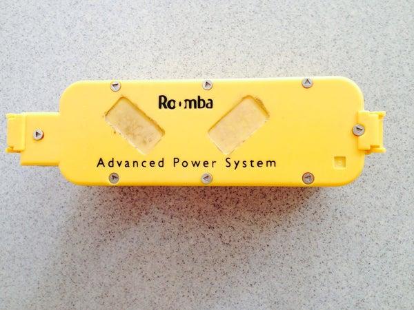 Roomba 415 Battery Teardown