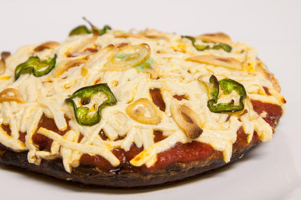 Crustless Portobello Pizza