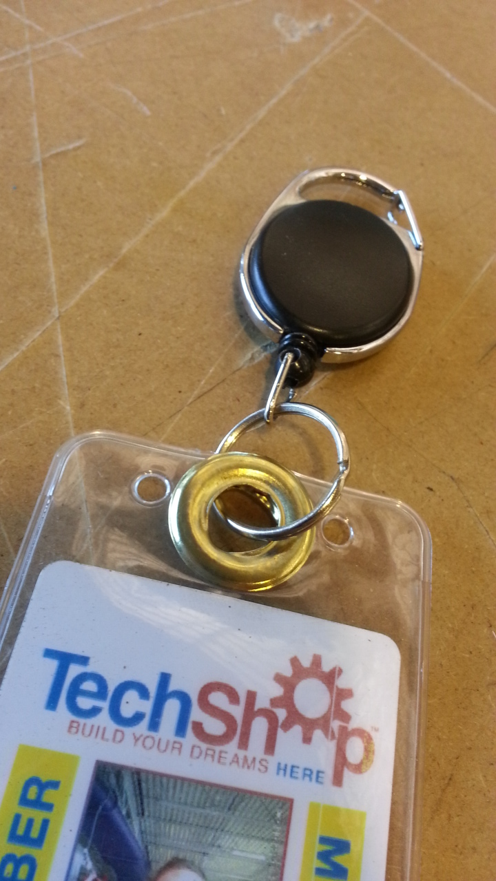 How to reinforce an ID badge laminate