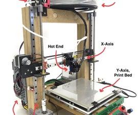 木制DIY 3D打印机