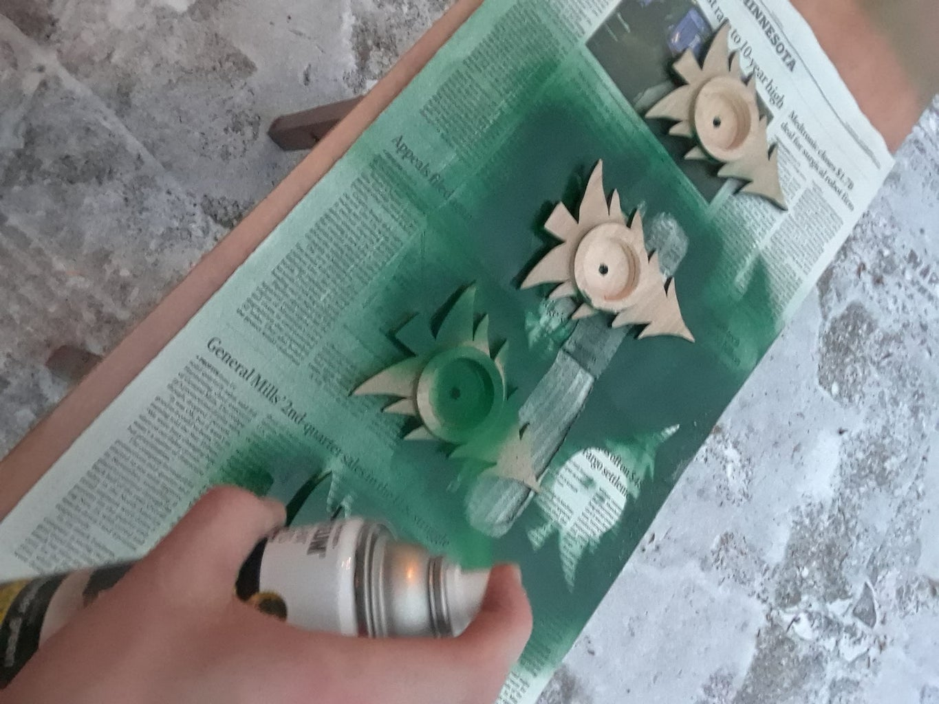 Painting the Trees