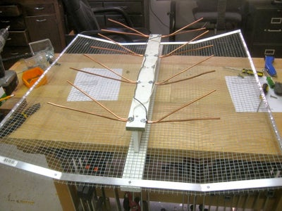 Mounting the Whisker Spline to the Reflector