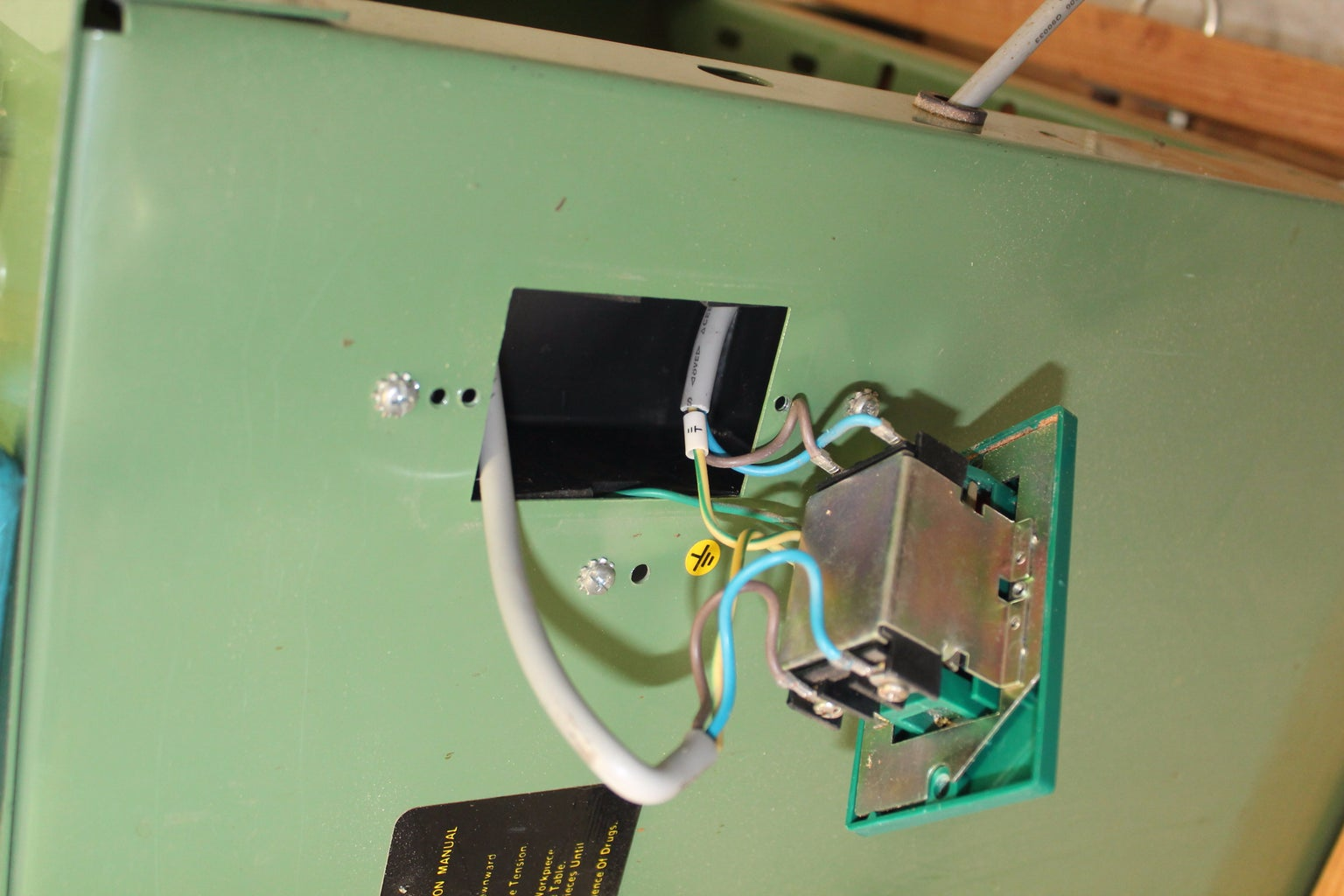 Electrical Step 1: Cleaning and Fixing Stop/Start