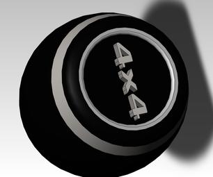 Customizable Stick Shift Knob