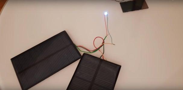 Led Solar Powered