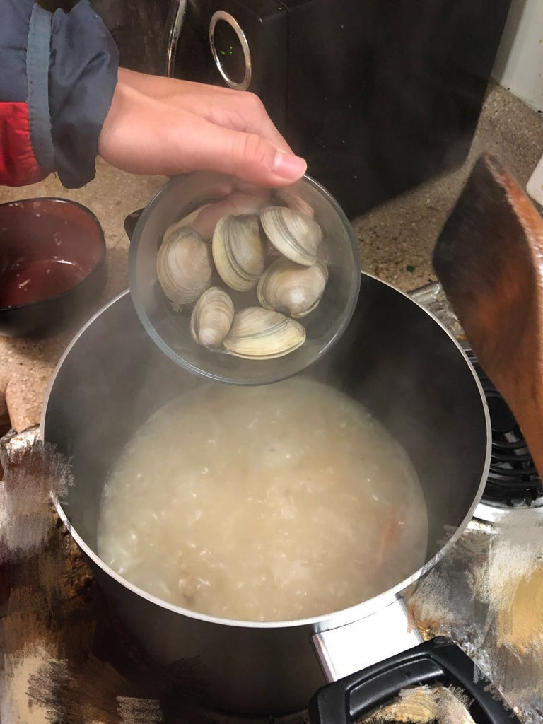 Cooking Procedures - Drop Clams