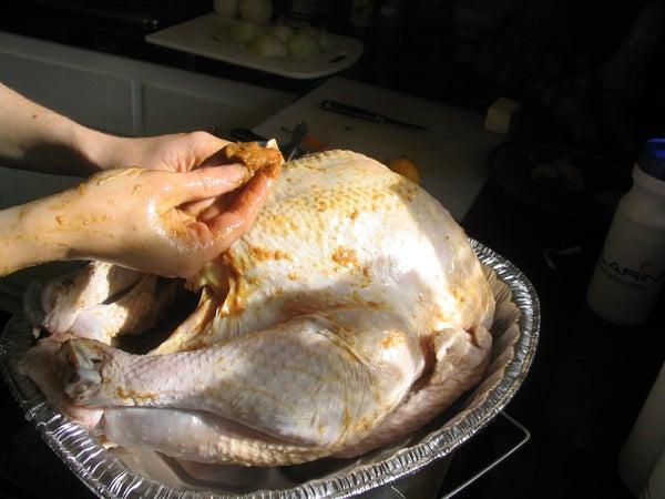 Miso-rubbed Roast Turkey