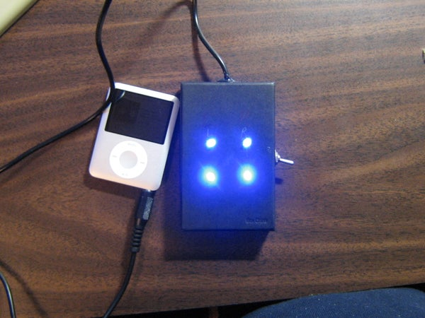 Blinking LEDs to Music