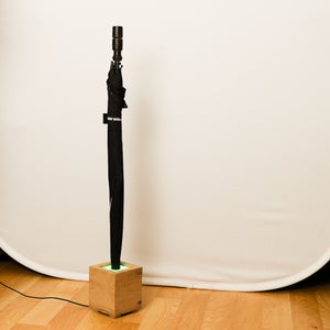 Neopixel Rain Forecaster Incorporated Umbrella Stand