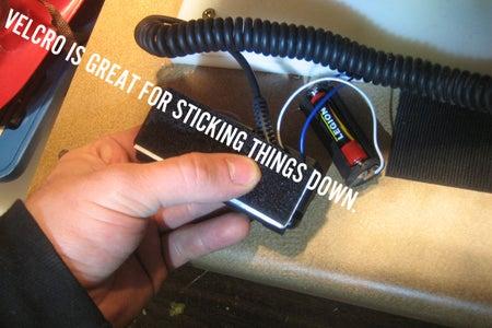 Handle/Electronics: Mounting It Up.
