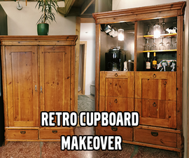 Retro Cupboard Makeover