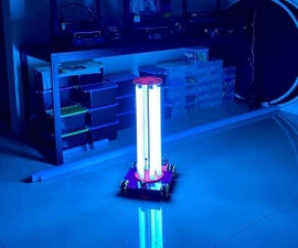 UVC Disinfection Robot
