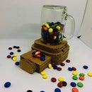 DIY Cardboard Candy Dispenser