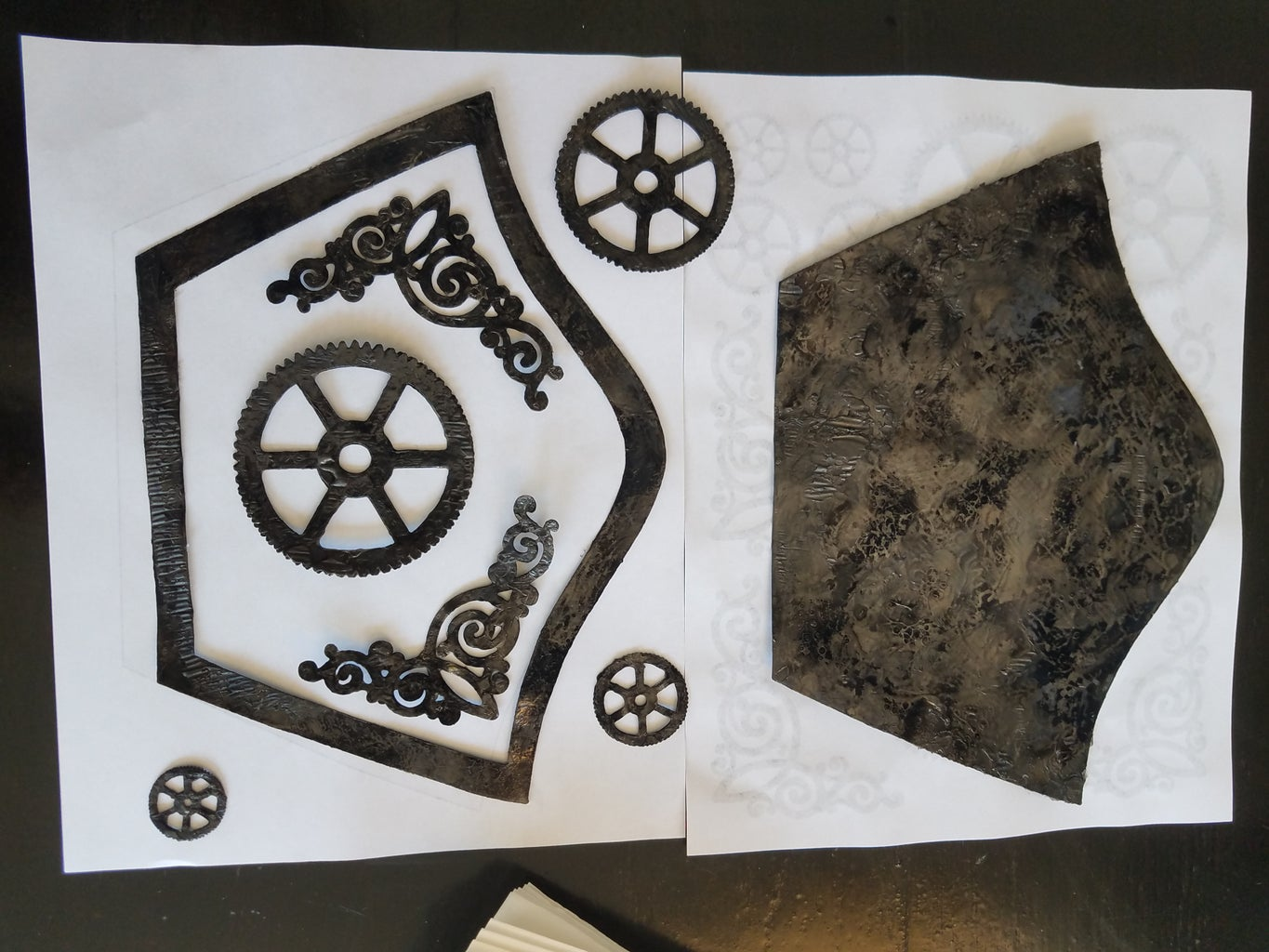 Flattening Your Pieces