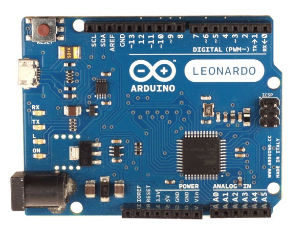 Step by Step Guide to the Arduino Leonardo