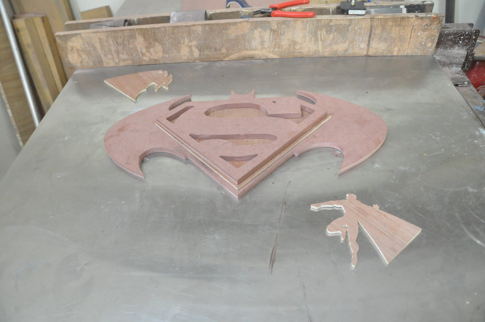 Cutting With Jigsaw, Cleaning of Edges and Sanding